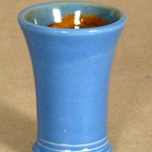 Schnapsbecher in blau, klein