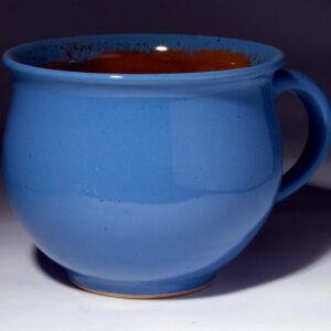 Potschamperl blau glasiert